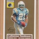 2005 Topps Turn Back the Clock #12 LaDainian Tomlinson Chargers