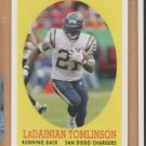 2007 Topps Turn Back the Clock #10 LaDainian Tomlinson Chargers