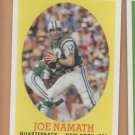 2007 Topps Turn Back the Clock #17 Joe Namath Jets