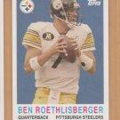 2005 Topps Turn Back the Clock #14 Ben Roethlisberger Steelers