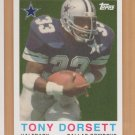 2008 Topps Turn Back the Clock #16 Tony Dorsett Cowboys