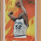 1996-97 Topps Season's Best En Fuego Shaquille O'Neal Magic