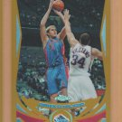 2004-05 Topps Chrome Gold Refractor Darko Milicic Pistons /99