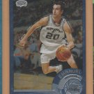 2002-03 Topps Chrome Rookie #124B Emanuel Manu Ginobili Spurs RC Spanish Version