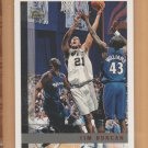 1997-98 Topps Rookie Tim Duncan Spurs RC