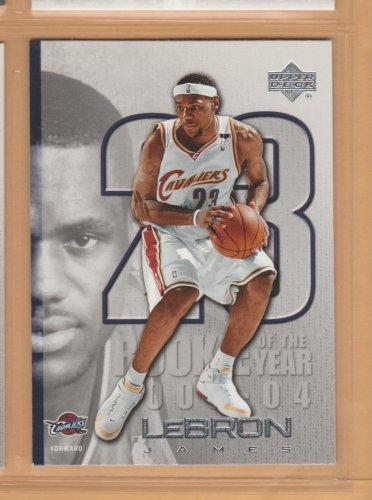 2005-06 Upper Deck ROY #LJ36 Lebron James Cavaliers