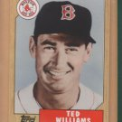 2006 Topps Walmart WM-2 Ted Williams Red Sox