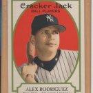 2005 Topps Cracker Jack #3A Alex Rodriguez Yankees