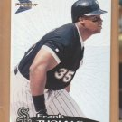 1999 Pacific Prism Frank Thomas White Sox