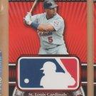 2010 Topps Logoman HTA #1 Albert Pujols Cardinals
