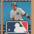 2010 Topps Logoman HTA #29 Alex Rodriguez Yankees