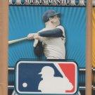 2010 Topps Logoman HTA #32 Mickey Mantle Yankees