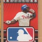 2010 Topps Logoman HTA #48 Ryan Howard Phillies