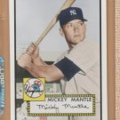 2006 Topps HTA Rookie of the Week #1 Mickey Mantle Yankees