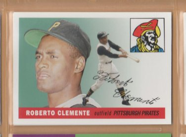2006 Topps HTA Rookie of the Week #7 Roberto Clemente Pirates