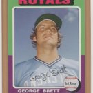 2006 Topps HTA Rookie of the Week #12 George Brett Royals