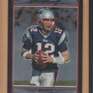 2007 Bowman Chrome Tom Brady Patriots