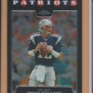 2008 Topps Chrome Tom Brady Patriots