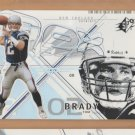 2002 Upper Deck SPX #6 Tom Brady Patriots