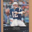 2002 Playoff Prestige Tom Brady Patriots