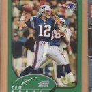2002 Topps #248 Tom Brady Patriots