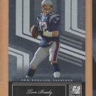2007 Donruss Elite Tom Brady Patriots