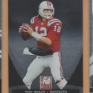 2011 Donruss Elite Tom Brady Patriots