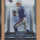 2006 Donruss Gridiron Gear Tom Brady Patriots