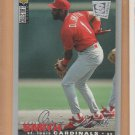1995 UD Collectors Choice SE Silver Signature Ozzie Smith Cardinals