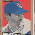 1994 UD Collectors Choice Silver Signature #320 Nolan Ryan Rangers