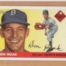 2005 Topps Dem Bums Reprints #DB-DH Don Hoak Brooklyn Dodgers