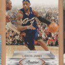 2009-10 Panini Prestige LeBron James Cavaliers