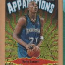 1998-99 Topps Chrome Apparitions Kevin Garnett Timberwolves