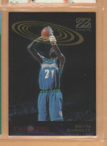 1997-98 Skybox Z-Force Star Gazing Kevin Garnett Timberwolves