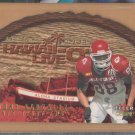 2001 Fleer Genuine Hawaii Live O Die Cut Tony Gonzalez Chiefs Falcons