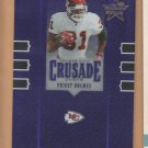 2005 Leaf Rookie & Stars Crusade Purple Priest Holmes Chiefs /250