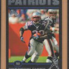 2004 Topps Black Border Antowain Smith Patriots /150