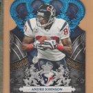 2010 Crown Royale Blue Die Cut Andre Johnson Texans /100
