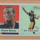 2002 Topps Heritage Chrome Refractor Plaxico Burress Steelers /557