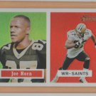 2002 Topps Heritage Chrome Refractor Joe Horn Saints /557