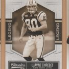 2010 Donruss Classics Legends SP Wayne Chrebet Jets /999