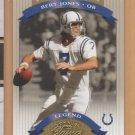 2002 Donruss Classics Legends SP Bert Jones Colts /1000
