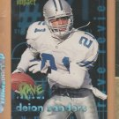 1997 Skybox Impact Rave Reviews Deion Sanders Cowboys