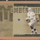 2005 Donruss Classics Membership Gold Troy Aikman Cowboys /250