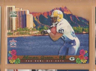 2002 Pacific Pro Bowl Die Cuts Ahman Green Packers