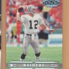 2002 Playoff Honors X's Rich Gannon Raiders /100