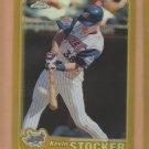 2001 Topps Chrome Gold Refractor Kevin Stocker Angels