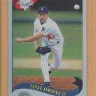 2002 Topps Chrome Traded Refractor Jesse Orosco Dodgers