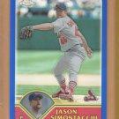 2003 Topps Chrome Refractor Jason Simontacchi Cardinals /699