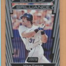 2000 Topps Stadium Club Bats of Brilliance Mike Piazza Mets